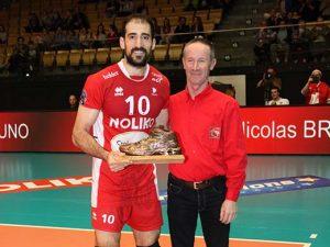 Bronzen Schoen 2017-2018 Nicolas Bruno (ARG)