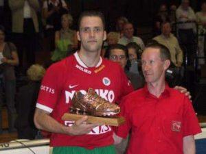 Bronzen Schoen 2007-2007 Allan Van de Loo
