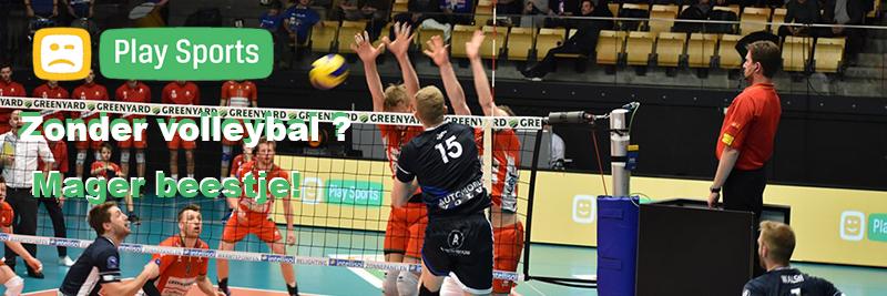 Play Sports zonder volleybal? Een mager beestje!