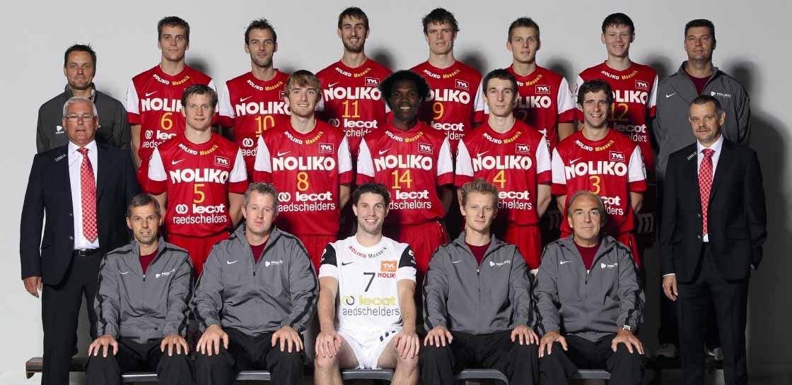 Team NOLIKO Maaseik 2011-2012 met Pieter Verhees
