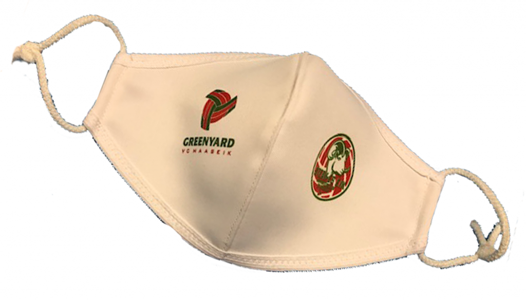 Mondmasker met logo VC GREENYARD Maaseik