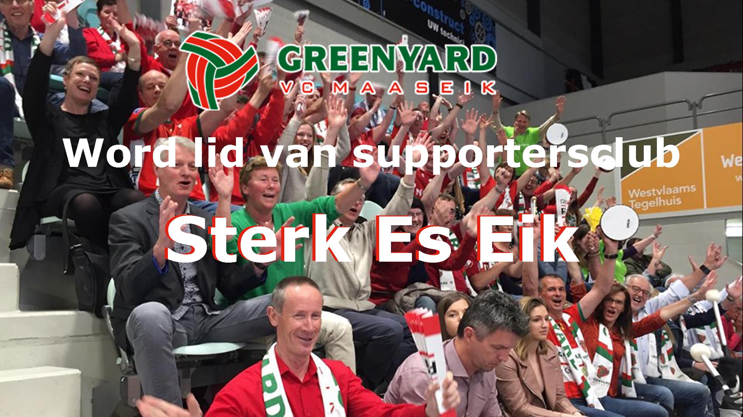 Word lid van supportersclub Sterk Es Eik