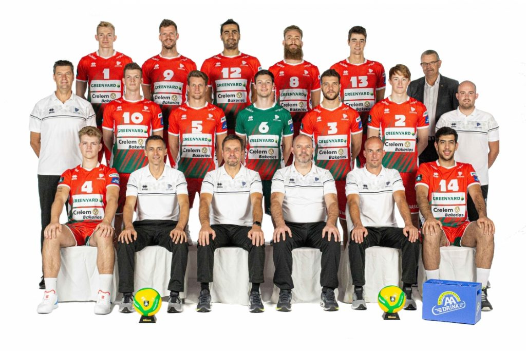 Team VC GREENYARD Maaseik seizoen 2020-2021