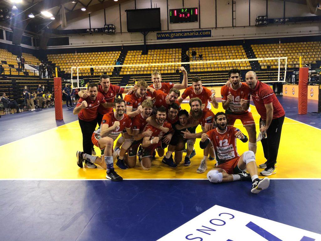 VC GREENYARD Maaseik naar Final 4 CEV Cup