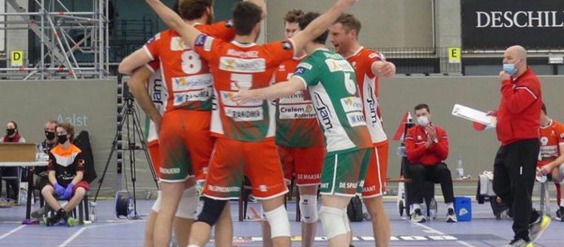 VC GREENYARD Maaseik naar Finale Beker van Belgie