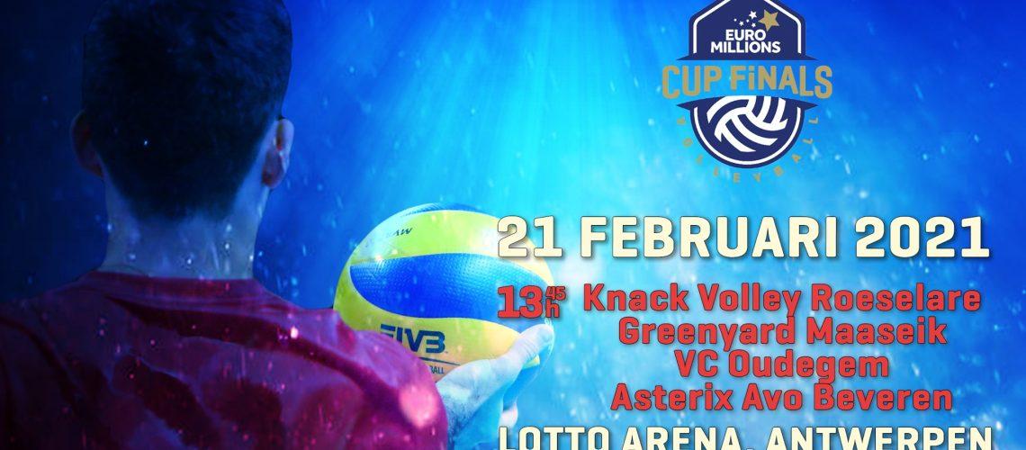 Cupfinals volleybal 2021